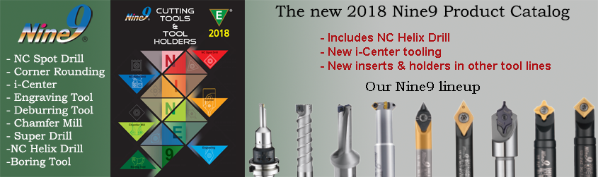 NEW 2018 Nine9 Product Catalog