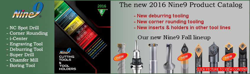 New Nine9 2016 Product Catalog