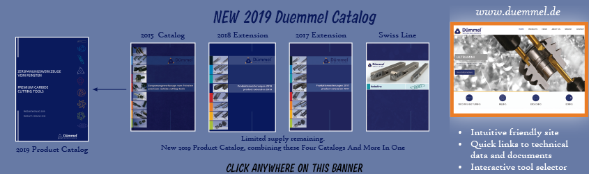 NEW!!! 2019 Duemmel Product Catalog